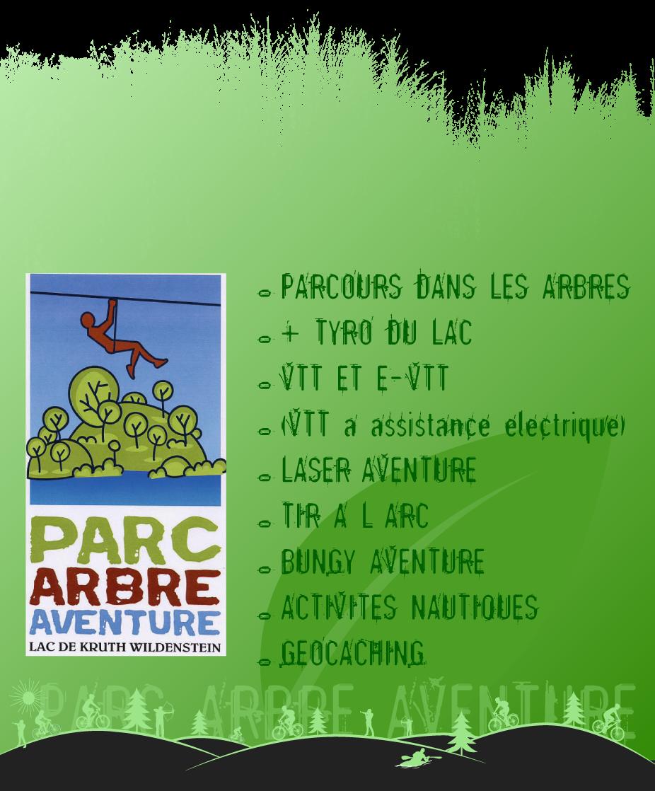 Activités du parc